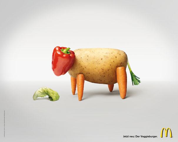 The Veggieburger  Advertisement