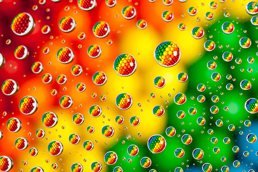 M&M's In Water Drops