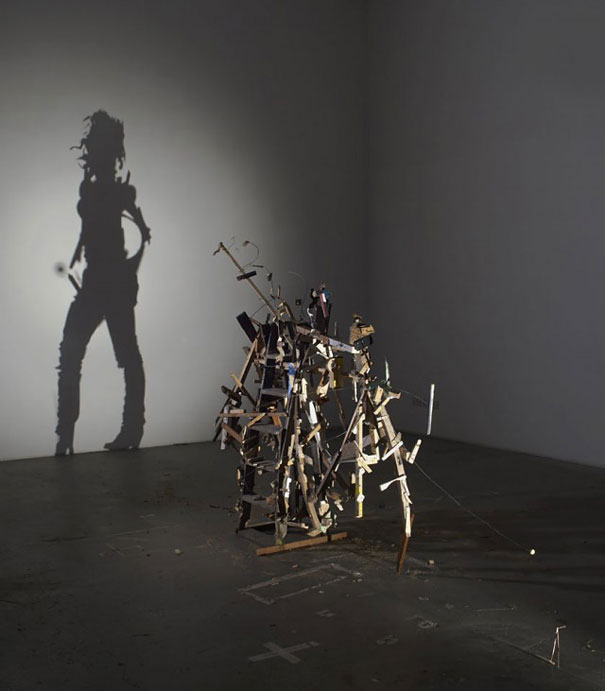 Amazing Shadow Art Created from Junk