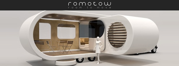USB-style Caravan Swivels Out, Doubles In Size