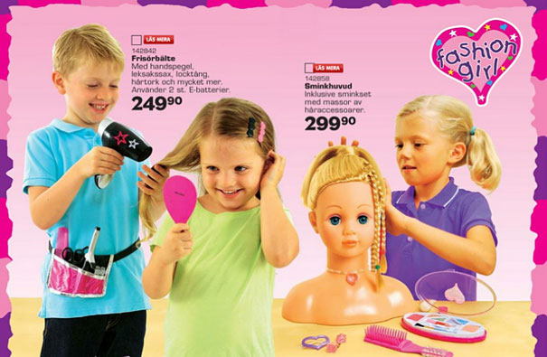 Swedish Toy Company Releases Gender Neutral Christmas