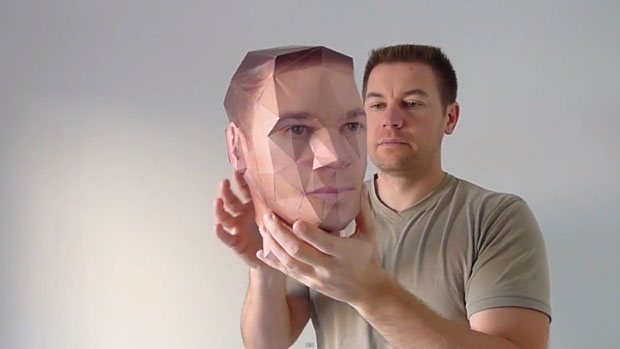 App Let's You Create a 3D Model of Your Own Head