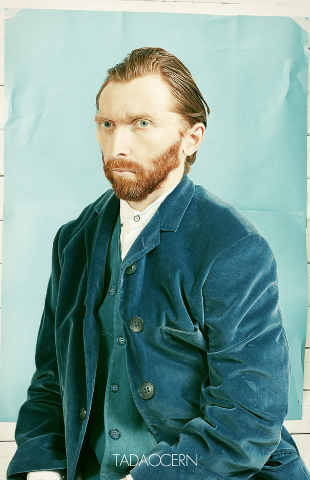 Photographer Takes a Photo which Looks Like the Famous Self-Portrait of Van Gogh