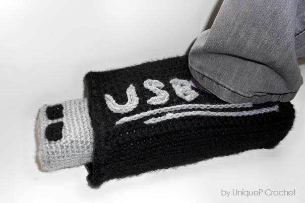 USB Stick Slippers