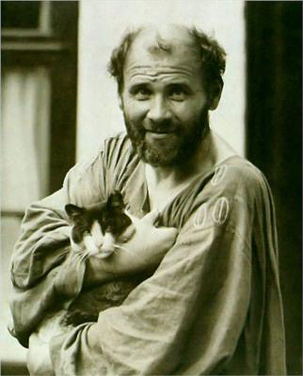 famous-artists-and-their-cats-6