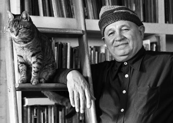 famous-artists-and-their-cats-8