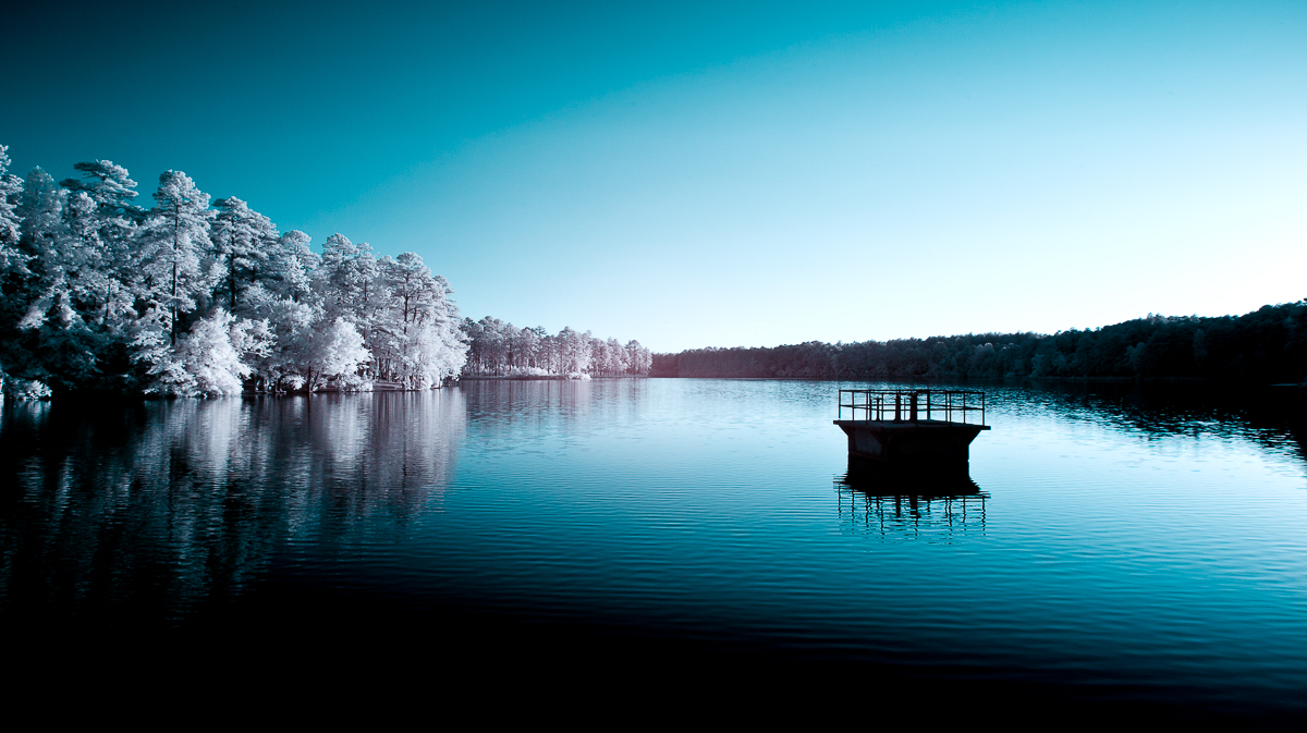 Infrared Photography by Hunter Rudd