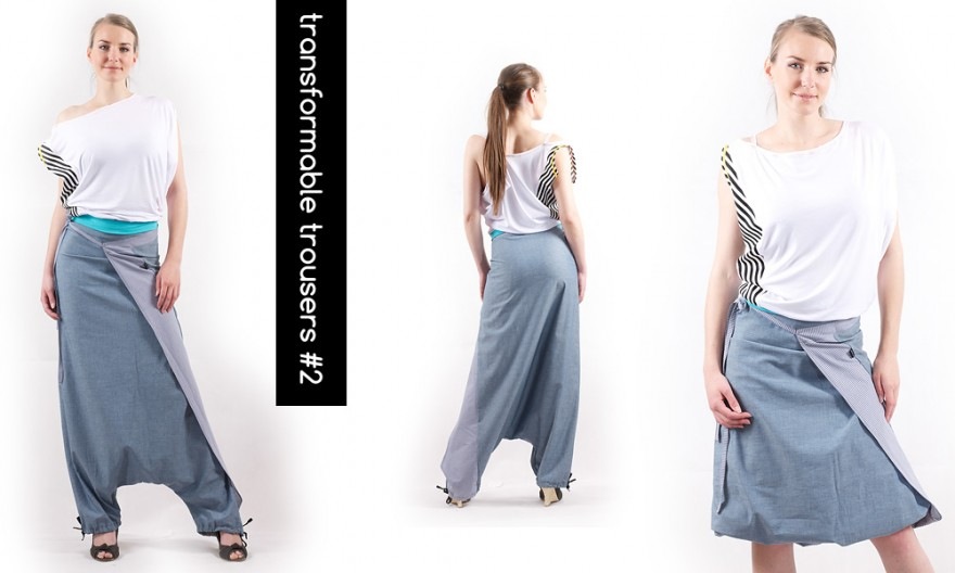 Transformable Fashion by MOJA MOJA