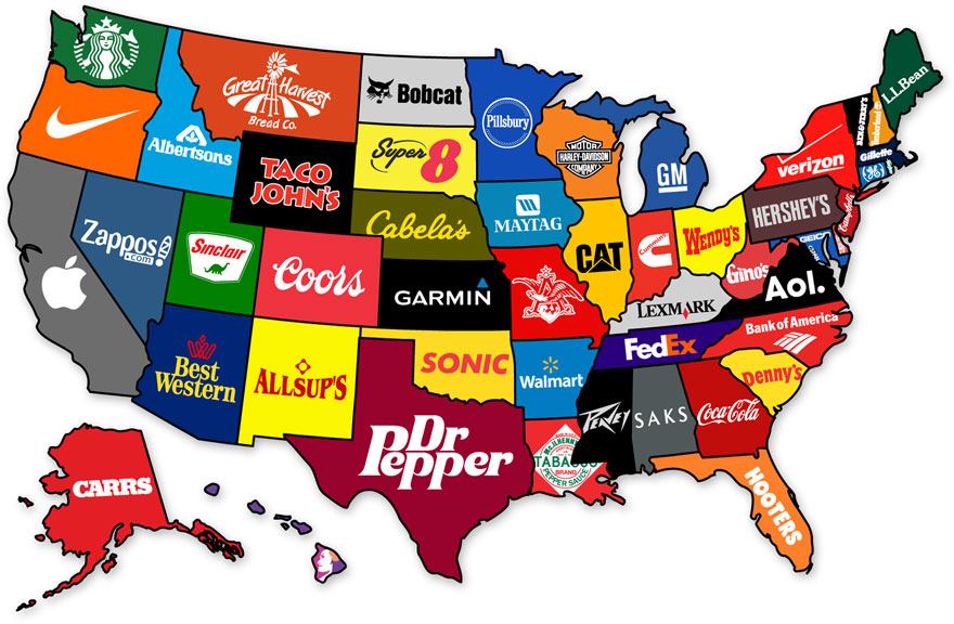 united-corporate-states-of-america-map-of-brands