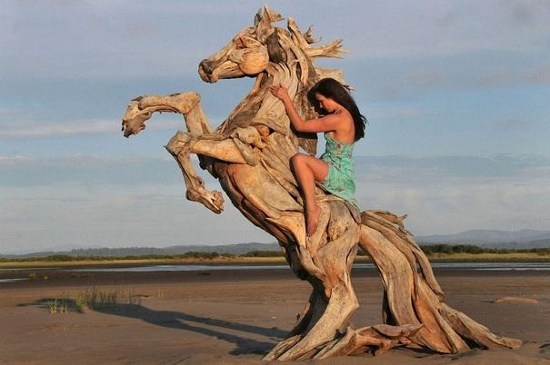 Incredible Driftwood Sculptures by Jeffro Uitto