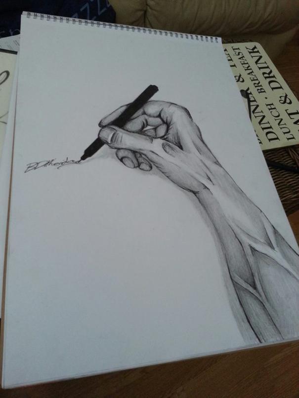 3D Hand Art