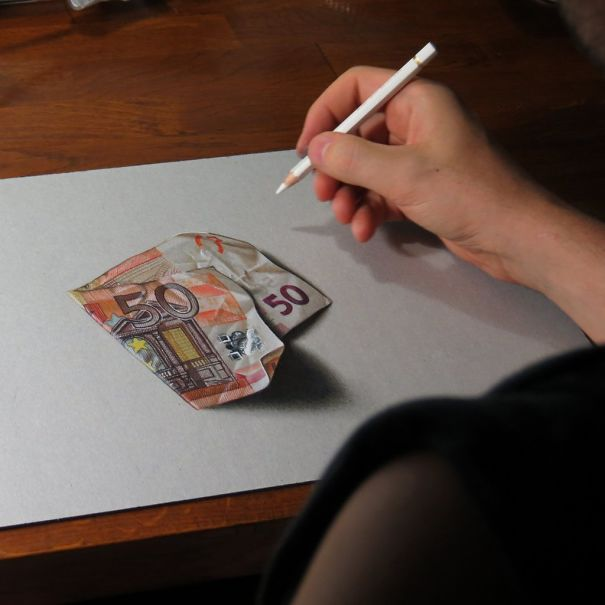 Mind-Boggling Hyper-Realistic Drawings By Marcello Barenghi (14 Pics)