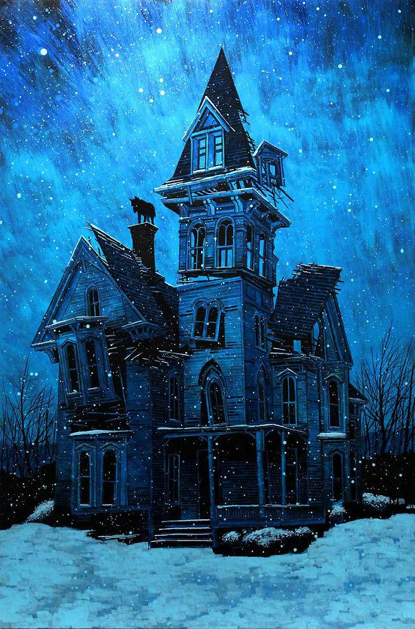 Spooky Artworks By Daniel Danger