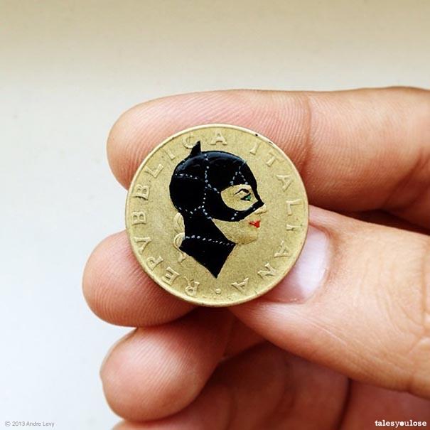 Brazilian Artist Transforms Coins Into Tiny Pop-Culture ... | 605 x 605 jpeg 54kB