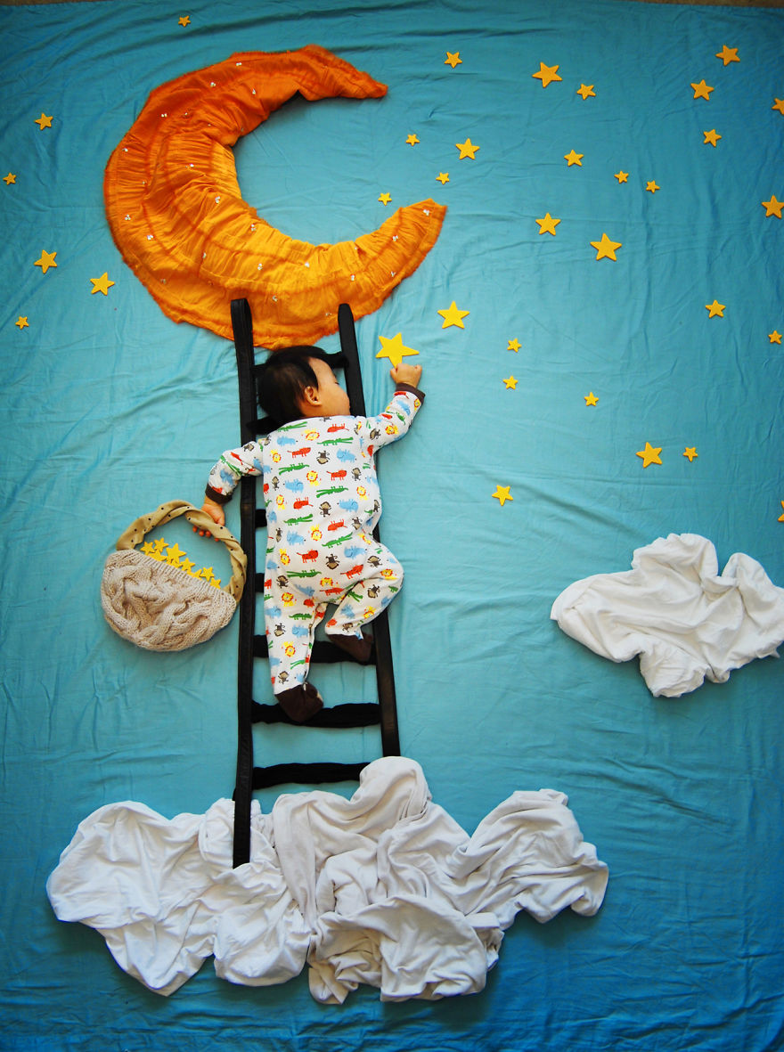 Creative Mom Turns Her Baby S Naptime Into Dream