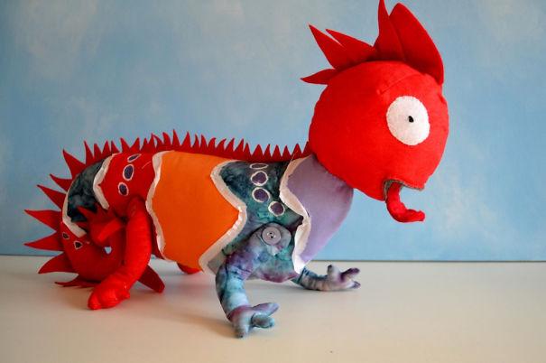 Artist Turns Kids' Drawings Into Real-Life Plush Toys (30 Pics)