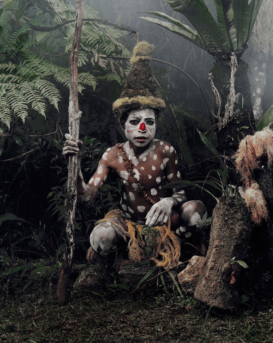 Before They Were Famous Celebrities When They Were Young: Stunning Portraits Of The World's Remotest Tribes Before