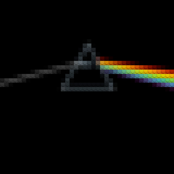 Famous Album Covers Recreated With Bits Of Lego