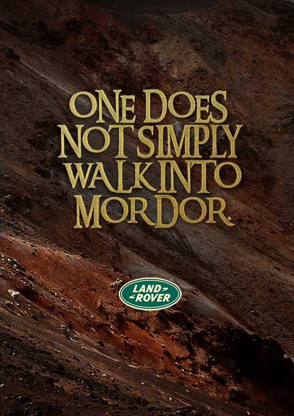 If Tolkien Worked As A Copywriter In Advertising