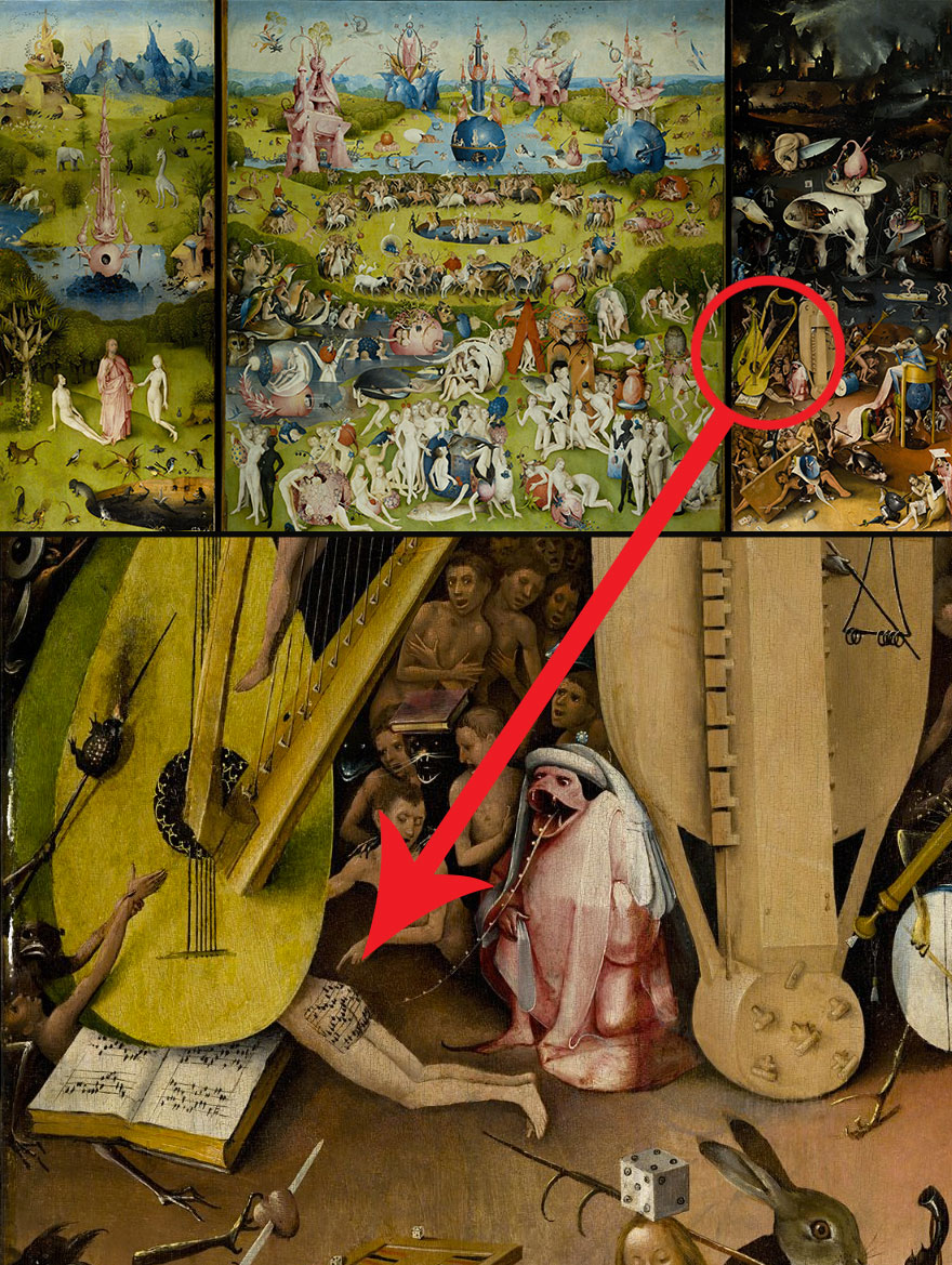 Listen To The 600-Year-Old Song Found On A Sinner's Butt In Hieronymus Bosch's Painting
