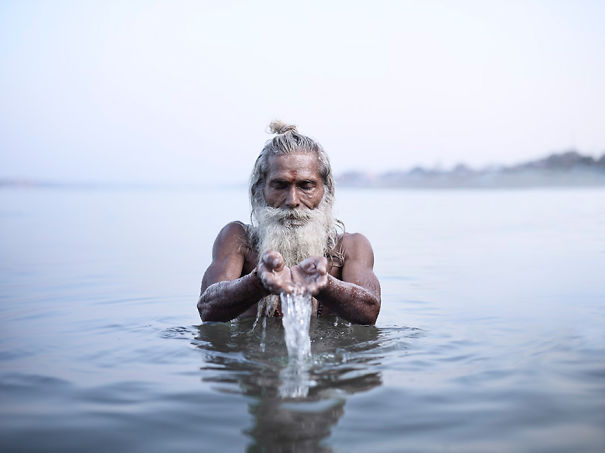 Sublime Portraits Of India's Holy Men By Photographer Joey L