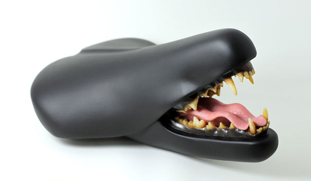 Weird Bike Seats By Clem Chen Look Like They Might Bite You