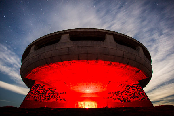 Photos Of The Buzludzha Communist Party Monument In Bulgaria