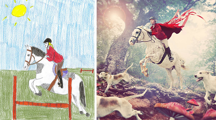 Children With Health Conditions Got Their Wildest Dreams Brought To Life From Their Drawings