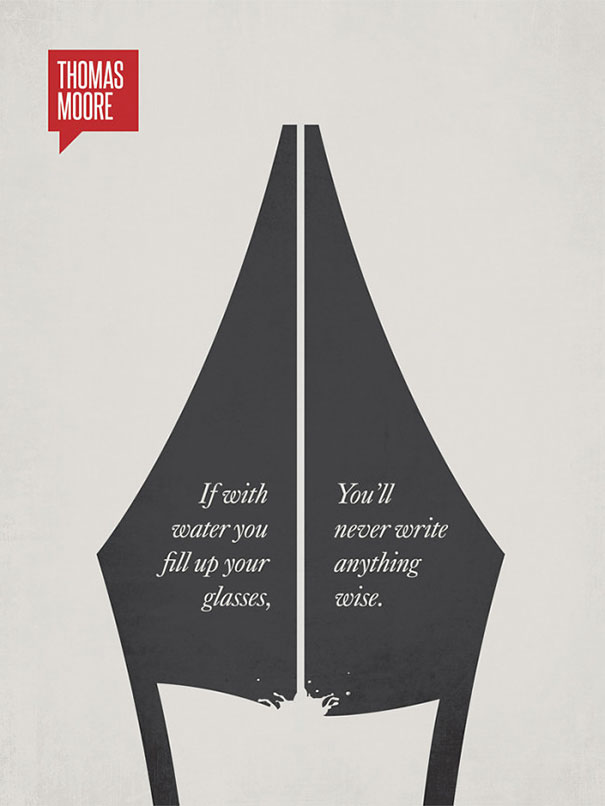 Inspiring Famous Quotes Illustrated With Minimalistic