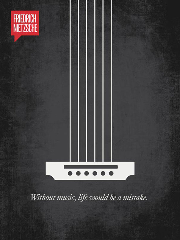 نیچه: بدون موسیقی، زندگی یک چیز کم دارد!