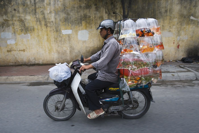 Incredible Photo Series Shows How Much Stuff You Can Carry With A Single Motorbike