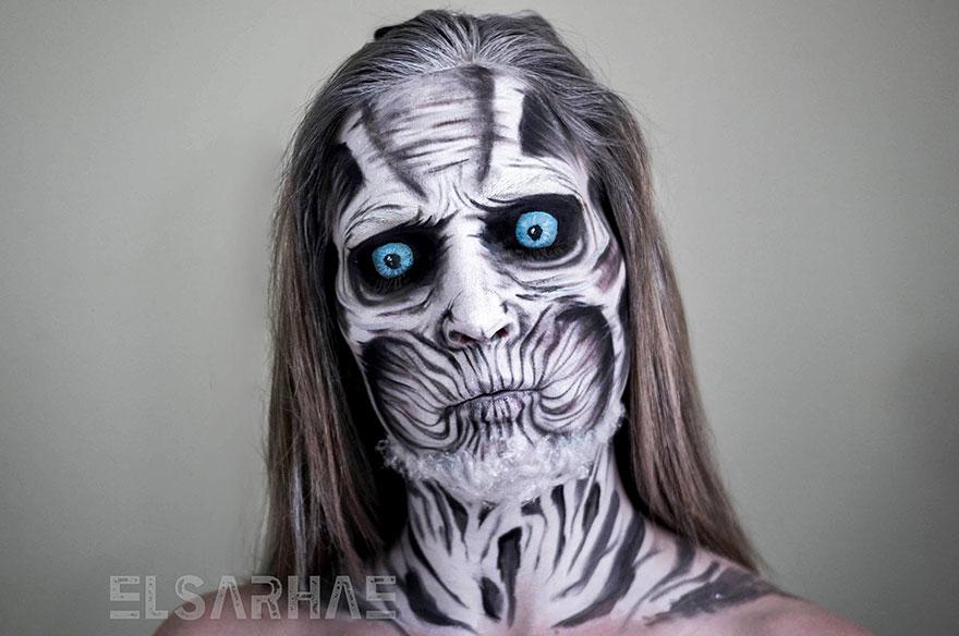 Self Taught Makeup Artist Transforms
