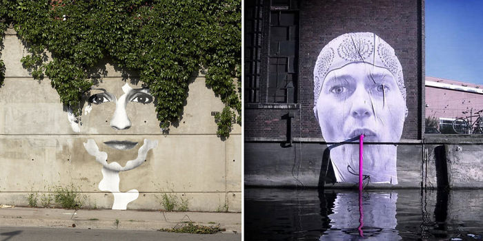 Share Street Art That Cleverly Interacts With Its Surroundings