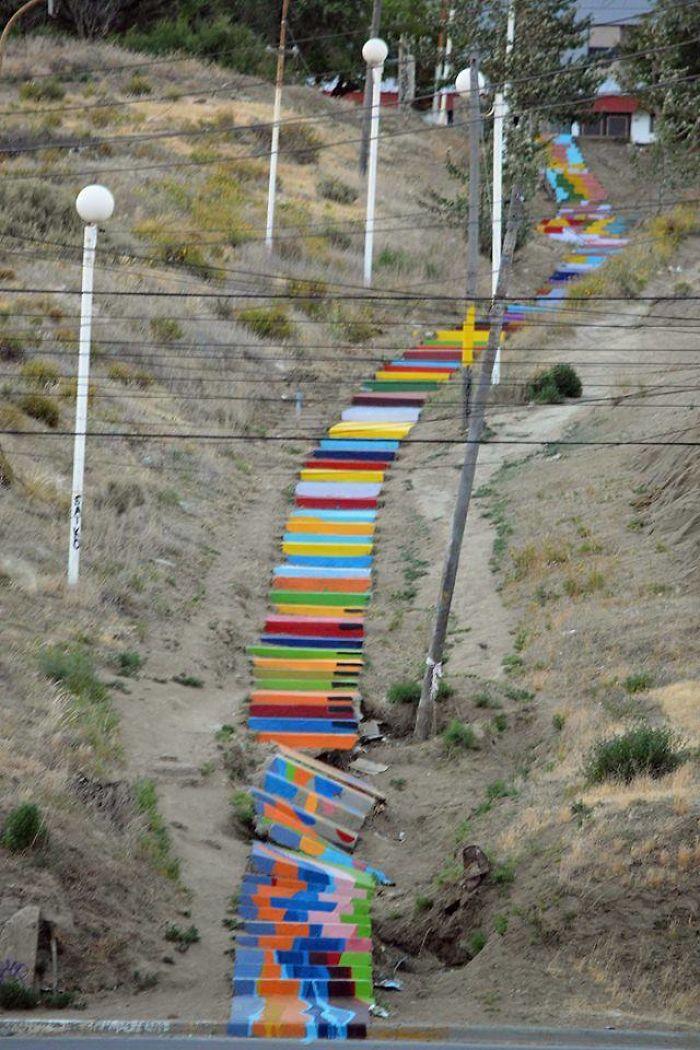 """""""escalera De Colores"""""""