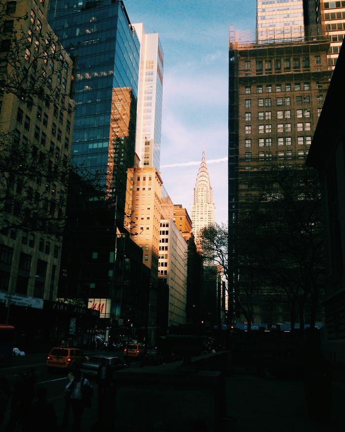 Surrounded By Skyscrapers