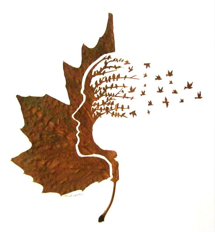Delicate Leaf Cutting By Omid Asadi