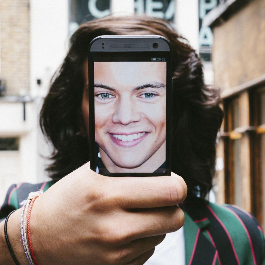 Dan Rubin Creates #phonies As A Reaction To #selfie Culture