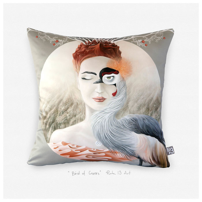Lithuanian Artist Brings Magic To Your Home With Beautiful Pillow Covers