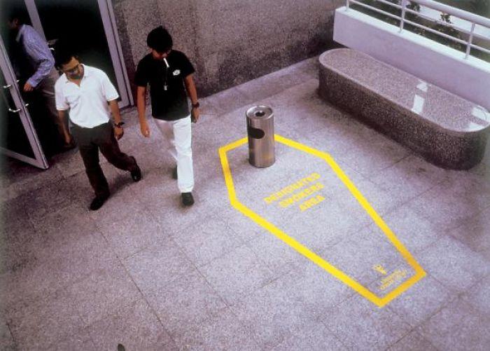 Smoking Kills Campaign, Singapore.