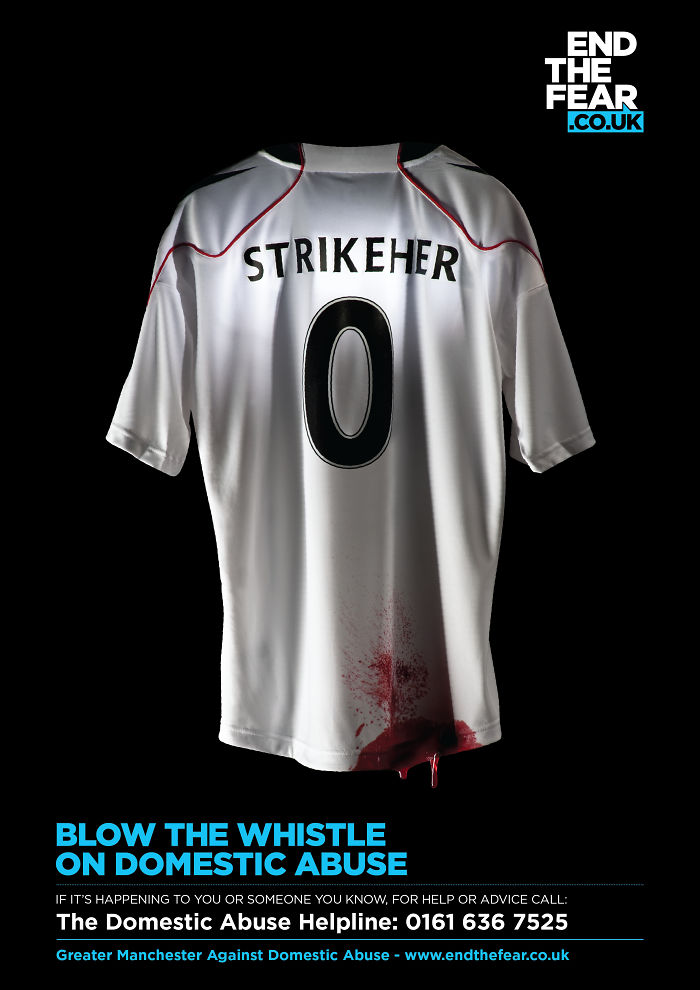 Blow The Whistle On Domestic Abuse