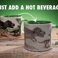 Disappearing Dinosaur Heat Change Mug