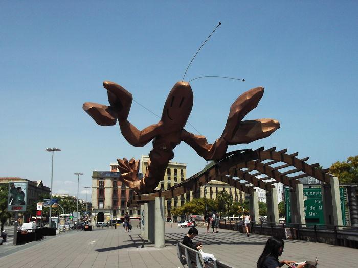 Lobster – Javier Mariscal – Barcelona, Port Vell