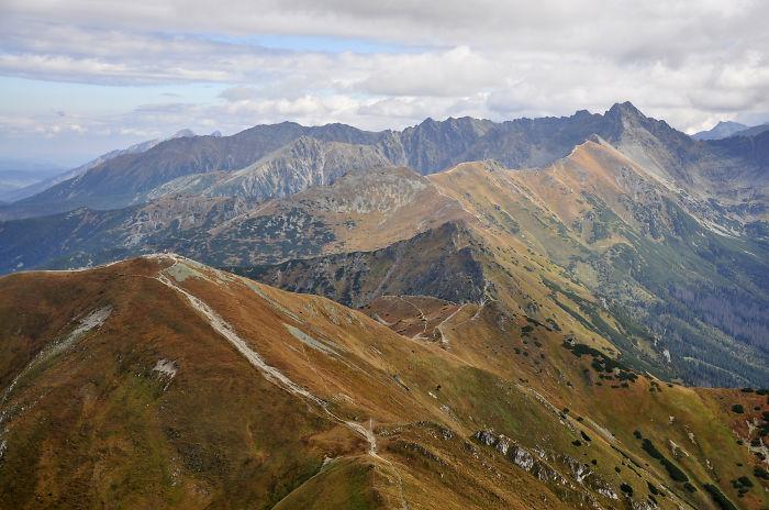 Czerwone Wierchy (red Peaks) In Tatra Mountains, Poland