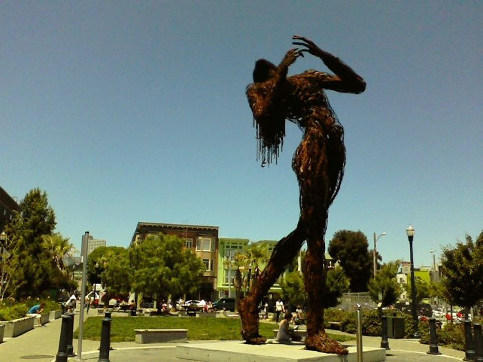 The Lady Of Hayes Valley San Francisco, Ca.
