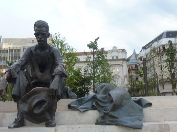 Sad Man In Budapest