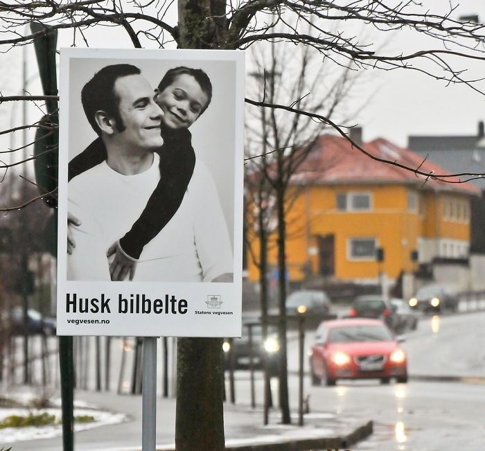 """""""use Your Seat Belt"""" Norwegian Ad That Focus On Who You'd Leave Behind"""