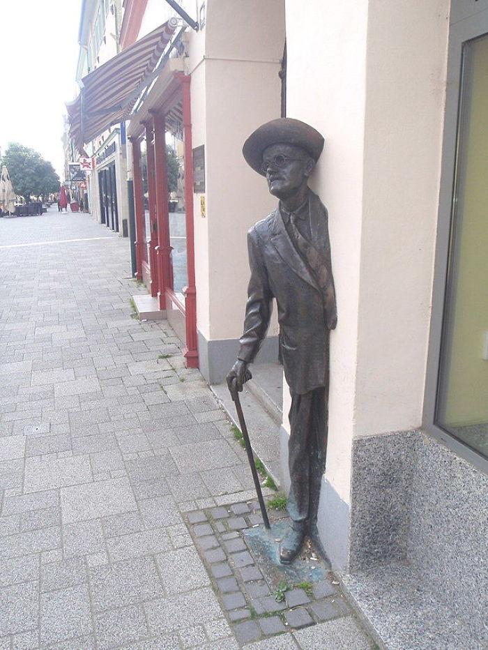 James Joyce In Hungary, In Szombathely