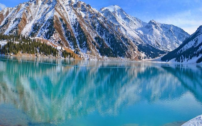Big Almaty Lake, Almaty, Kazakhstan