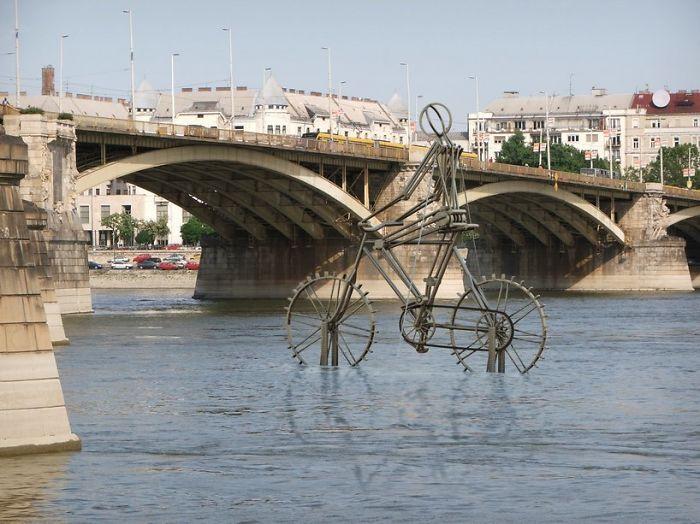Danube-bicycle