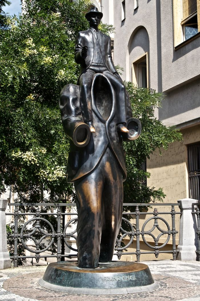 Franz Kafka By Jaroslav Róna - Prag